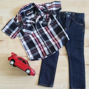 💥2/$13💥Cool Boy's 3T Outfit
